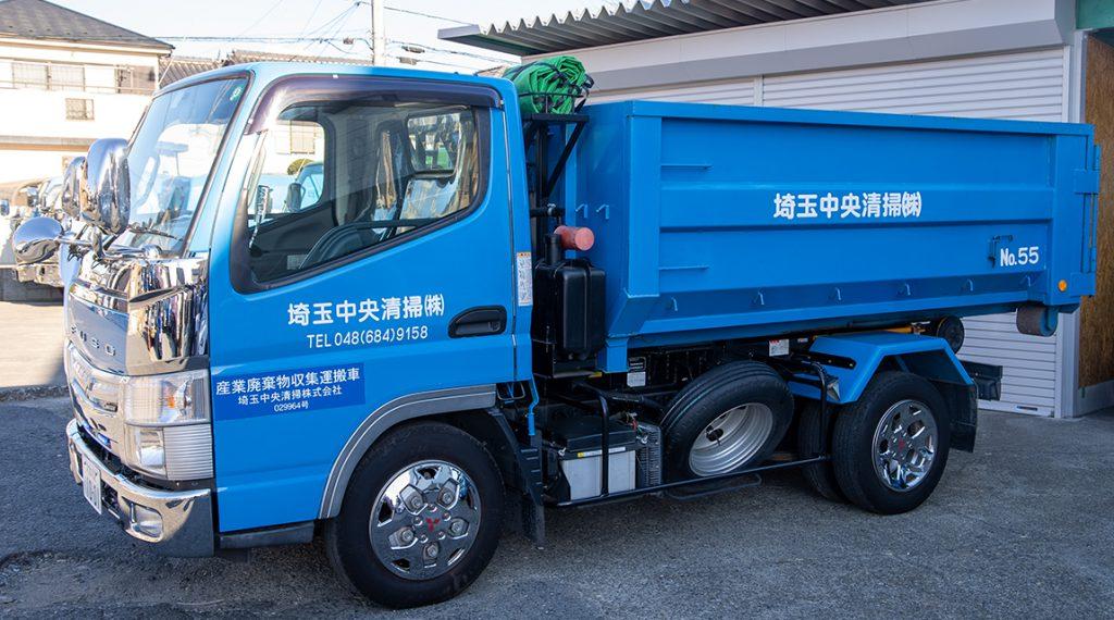 産業廃棄物回収(アームロール)